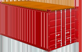 20-ти футовый Open Top контейнер