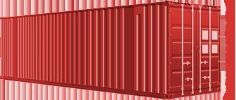 40-ка футовый high cube контейнер (увеличенной вместимости)