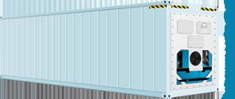 40-ка футовый рефрижераторный контейнер (высокий)